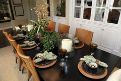 Free Luxury Home Dining Table Royalty Free Stock Photos - 11334278