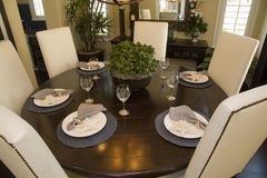 Free Luxury Home Dining Table. Stock Photos - 5067793