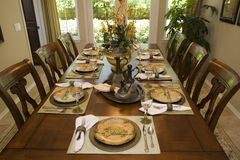 Free Luxury Home Dining Table. Royalty Free Stock Photo - 6668625