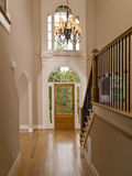 Luxury Home Entranceway Corridor Royalty Free Stock Image