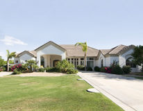 Luxury home estate Stock Photos