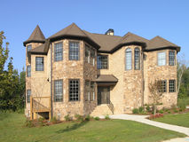 Luxury Home Exterior 01 Royalty Free Stock Photography