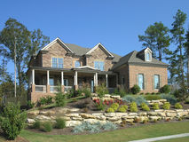Luxury Home Exterior 07 Stock Images