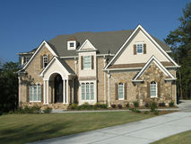 Luxury Home Exterior 08 Royalty Free Stock Images