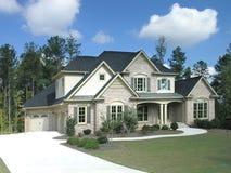 Luxury Home Exterior 25 Stock Photography