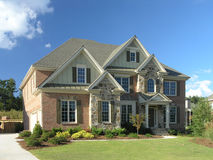 Luxury Home Exterior 58 Royalty Free Stock Photos