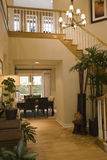 Luxury home hallway. Royalty Free Stock Photo