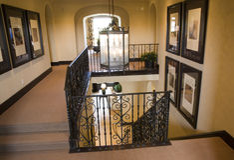 Luxury home hallway. Royalty Free Stock Image
