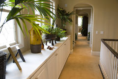 Luxury home hallway Royalty Free Stock Images
