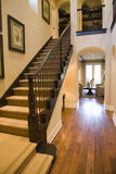 Luxury home hallway Royalty Free Stock Photography