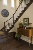 Luxury home hallway Stock Photos
