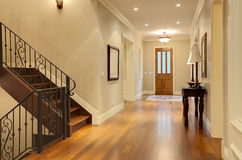 Luxury Home Hallway Entrance Royalty Free Stock Photos