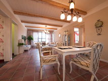Luxury home interior Stock Photography