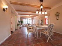 Luxury home interior Stock Images