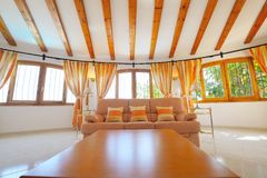 Luxury home interior. With modern decoration Royalty Free Stock Images