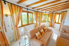 Luxury home interior. Modern decoration Royalty Free Stock Images