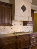 Luxury Home Interior Burner Vent Hood Stock Images