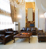 Luxury home interior decoration Royalty Free Stock Images