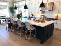 Luxury Home Interior modelo fotografia de stock