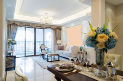 Luxury home interior Stock Image