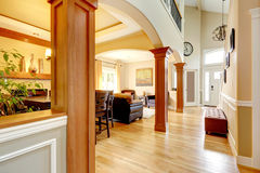 Luxury home interior. Royalty Free Stock Photography