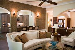 Luxury Home Interior Royalty Free Stock Image