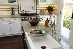 Luxury home kitchen Royalty Free Stock Photography