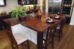 Luxury home kitchen Stock Image
