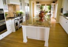 Luxury home kitchen. Stock Image