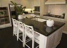 Luxury home kitchen Royalty Free Stock Photo
