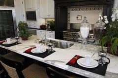 Luxury home kitchen Stock Photos