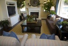 Luxury home living room Stock Image