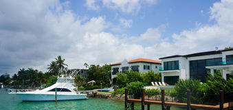 Luxury home in miami Royalty Free Stock Image