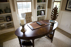 Luxury home office Royalty Free Stock Photography
