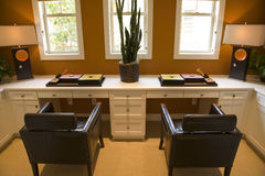 Luxury home office. Royalty Free Stock Photos