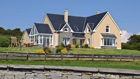 Luxury home in rural countryside ireland Stock Photos