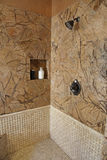 Luxury home shower Royalty Free Stock Images