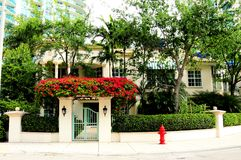 Luxury home, South Florida Royalty Free Stock Photo