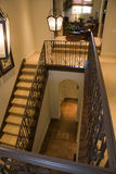 Luxury home staircase Royalty Free Stock Photos
