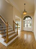 Luxury Home Staircase and Foyer Royalty Free Stock Images