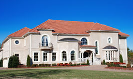 Luxury Home Terra Cotta 26 Stock Photo