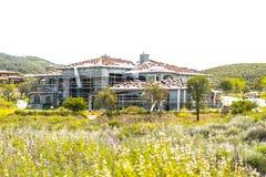 Luxury Home Under Construction Stock Photo