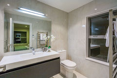 Luxury  home washroom Stock Photo