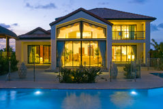 Free Luxury Home With Pool Royalty Free Stock Images - 14668599