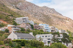 Luxury homes in Gordons Bay Stock Photography