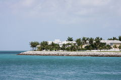 A luxury homes on the Key West Stock Photo
