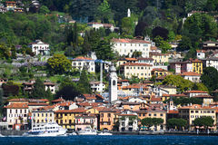 Luxury homes on Lake Como Stock Photos