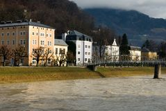 Luxury Homes, Salzburg, Austria Stock Image