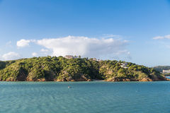 Luxury Homes on Tropical Hilltop Royalty Free Stock Photography