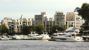 Luxury Homes and Yachts Royalty Free Stock Photography